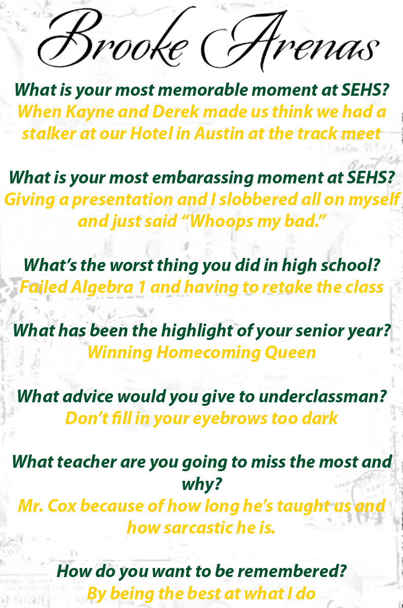 Springlake-Earth High School | Brooke's Page