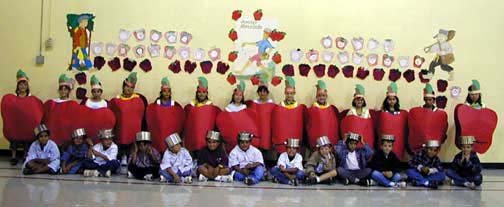 First Grade Johnny Appleseed Unit